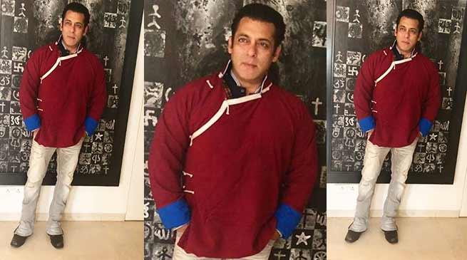 जब सलमान खान ने पहना अरुणाचल का मोन्पा जैकेट- तस्वीर की शेयर