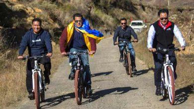 Photo of जब सलमान ने अरुणाचल की पहाड़ियों पर चलाई साइकिल , PHOTO हो गया वायरल