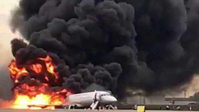 Photo of रूस के यात्री विमान में आग लगने से 41 की मौत