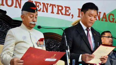 Photo of पेमा खांडू दूसरी बार बने अरुणाचल प्रदेश के मुख्य मंत्री