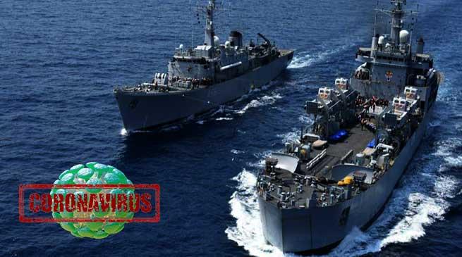 भारतीय नौसेना भी Coronavirus के चपेट में, 21 जवान covid-19 पॉजिटिव
